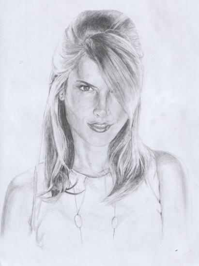 Alessandra Ambrosio by sinan